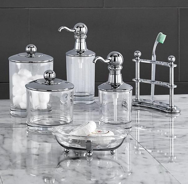 Vintage Bathroom Accessories From RestorationHardware.com