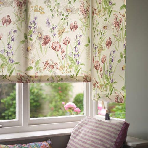 Cottage Garden Roller Blind Gardens Window Treatments