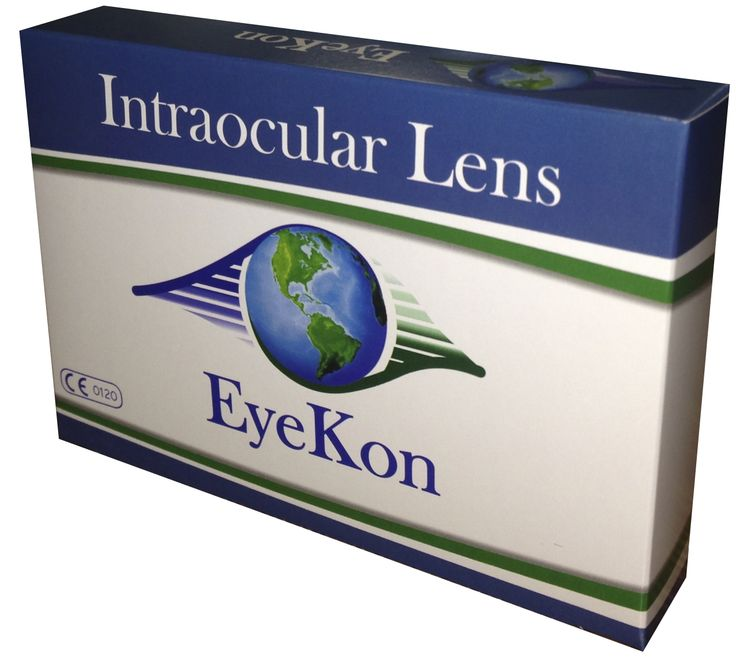 Eyekon brand of Intraocular Lenses