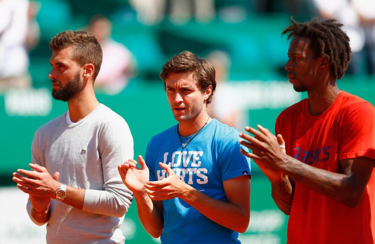 Gilles Simon Photos: ATP Masters Series: Monte Carlo Rolex Masters - Day Two