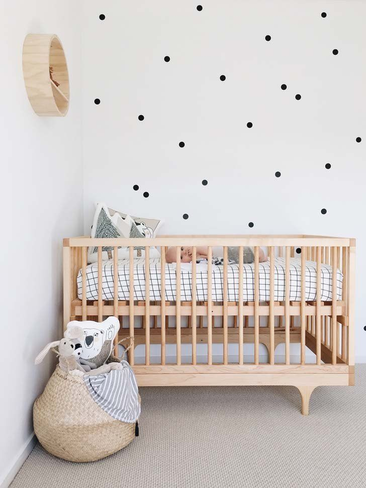 cool Nursery with Scandinavian and Natural Style - Petit & Small by http://www.tophomedecorideas.space/kids-room-designs/nursery-with-scandinavian-and-natural-style-petit-small/