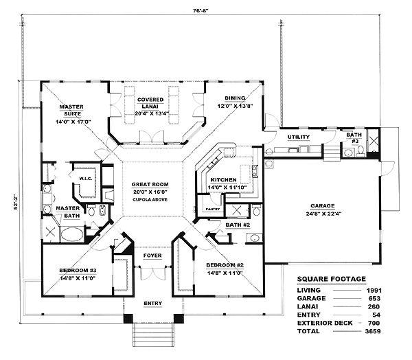 House Plan ID: chp-17425 - COOLhouseplans.com-wraparound porch :)