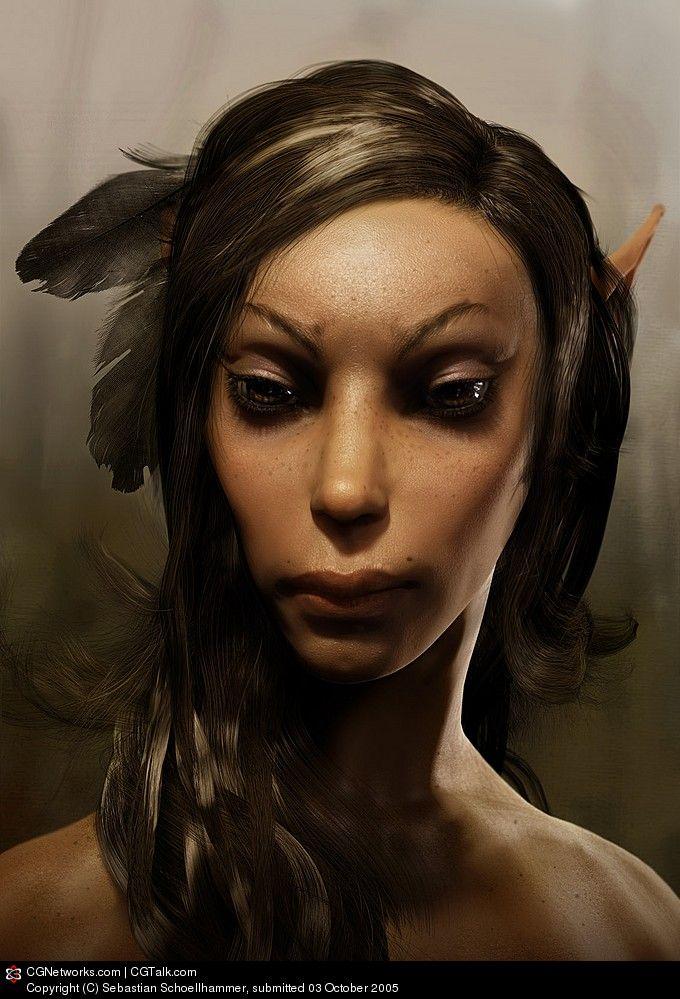 ☆ Elf Girl :: Artist Sebastian Schoellhammer ☆