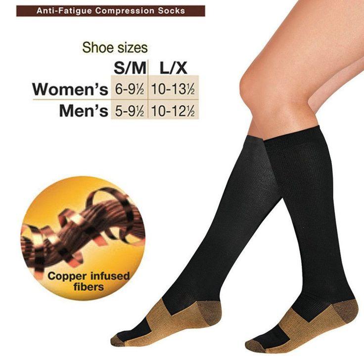 Anti-Fatigue Miracle Copper Unisex Socks