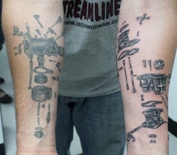 Diesel mechanic tattoo