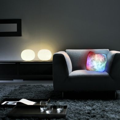 Moonlight Cushion glowing cushion // no need for extra mood lighting, let your pillow shine
