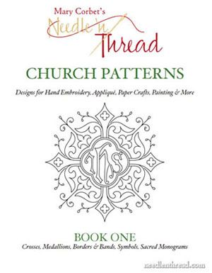 Church Embroidery Patterns: Book One