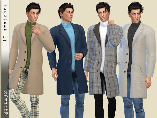 sims 4 cc // custom content men guy clothing // the sims