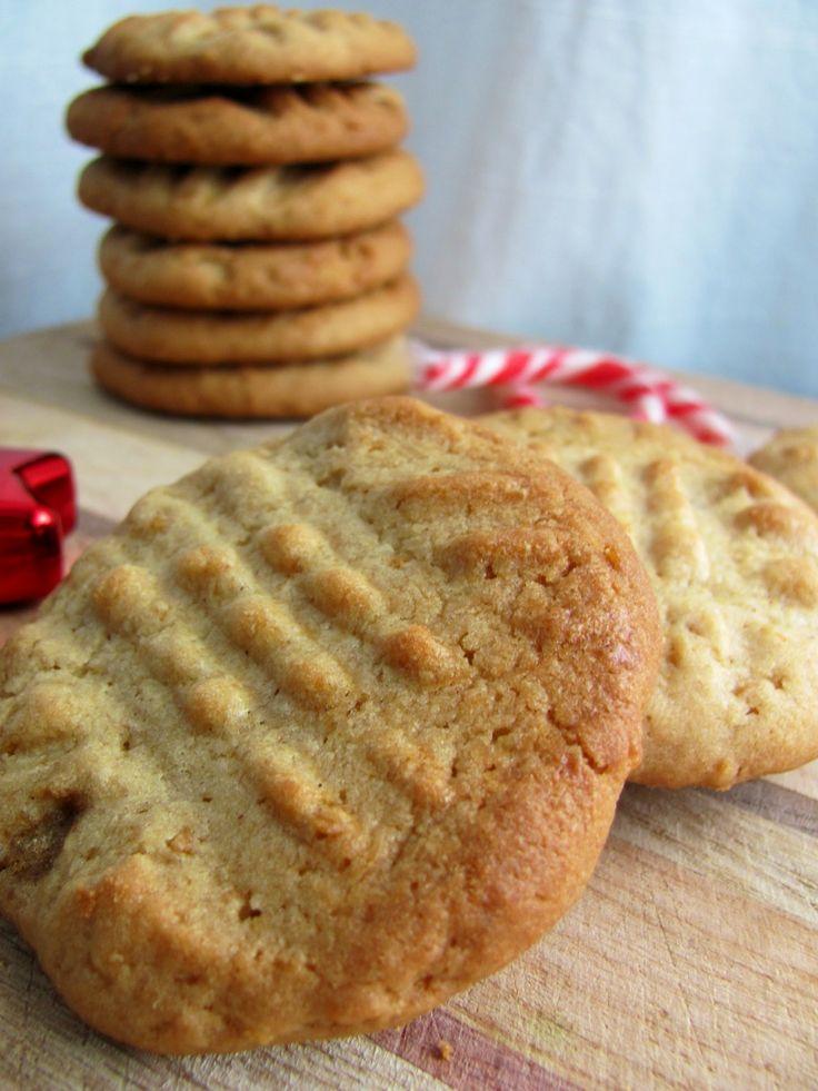 Biscuits beurre d'arachide et flocons de maïs-Peanut butter cookies_Mes tergiversations