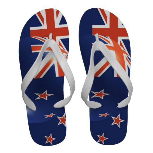 New Zealand Flag Sandals