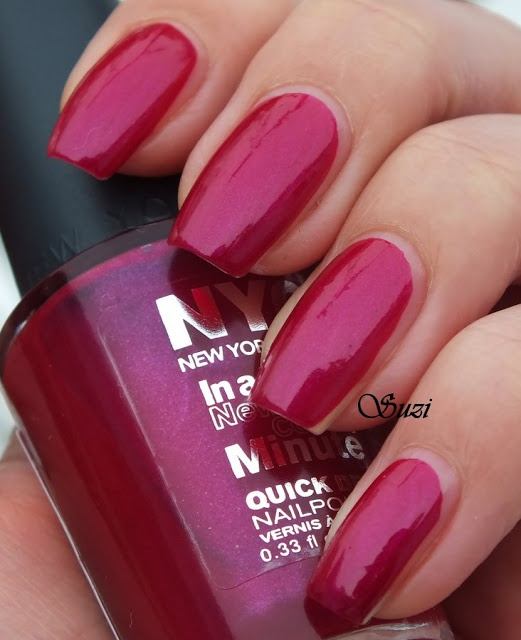 Nyc In A New York Color Minute Quick Dry Nail Polish 268 Fashion