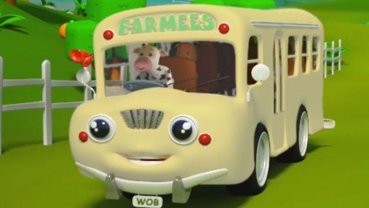 Roues sur le bus | Rimes pour bébés | bus chanson pour les #enfants | The Wheels on The Bus Song #FarmeesFrancaise #Wheelsonthebus #comptines #éducatif #kidslearning #kidsvideos #kindergarten #frenchrhyme #kidsrhyme #3drhymes #compilation https://youtu.be/033W85Z7bWI