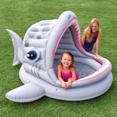 Intex Babyzwembad Haai|opblaasartikelen|waterpret|buitenspeelgoed|speelgoed - Vivolanda