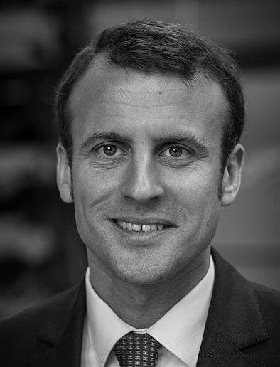 Emmanuel Macron mis à l'honneur par Christian Soleil
