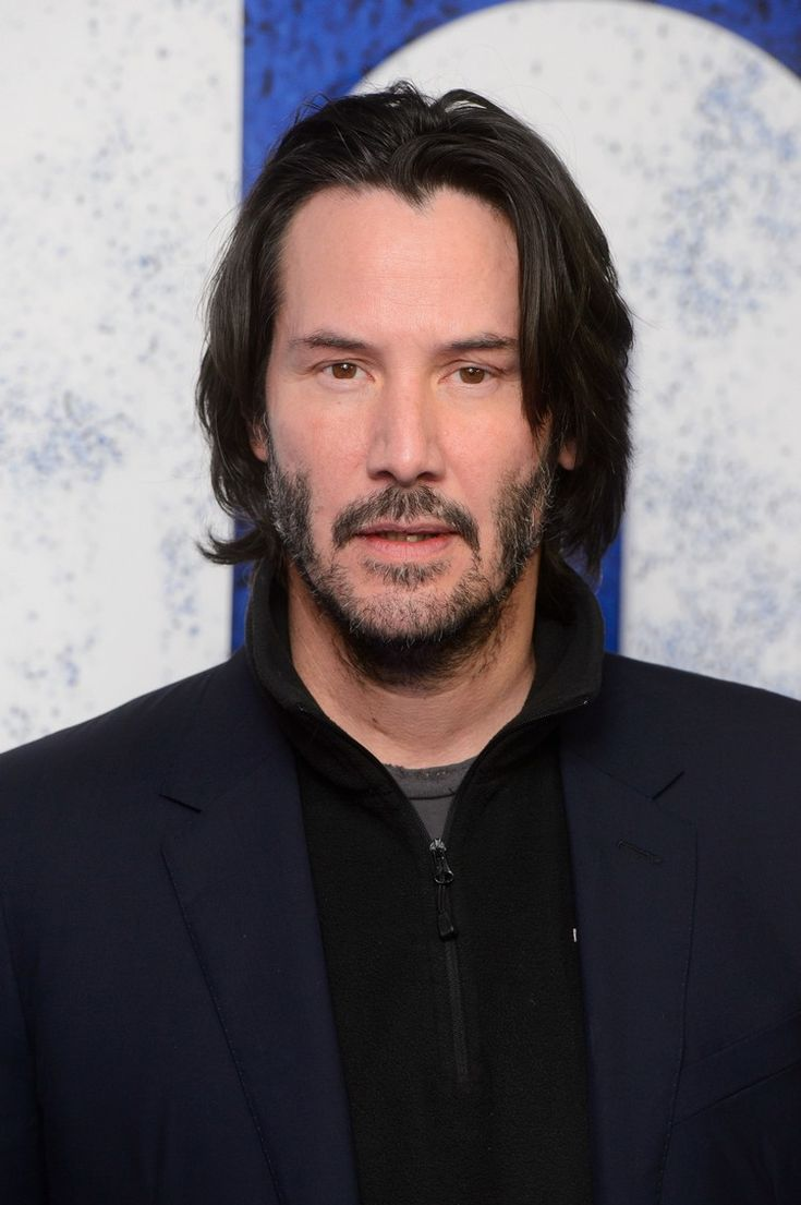 Frisuren Manner Mittellang Glatte Haare Keanu Reeves Frisuren