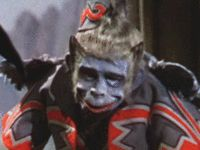 Winged monkeys  from The Wizard of Oz movie still scare me. This picture is of Nikko, the head flying monkey as he appears in the 1939 film.
