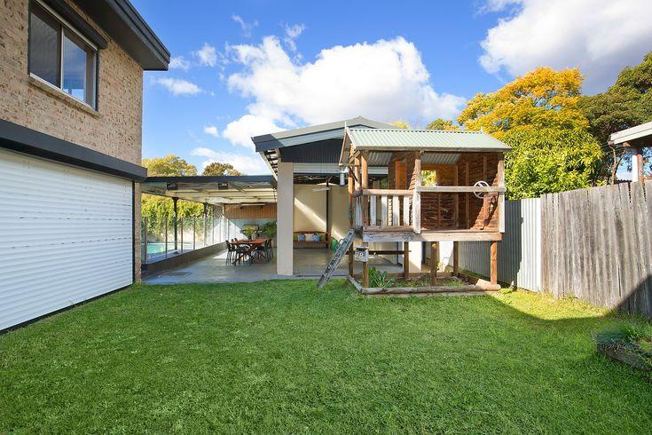 #Haberfield #Backyard #Playhouse #treehouse #green #open #sunny #family #yard #patio #verandah #fun #forsale #sale #auction