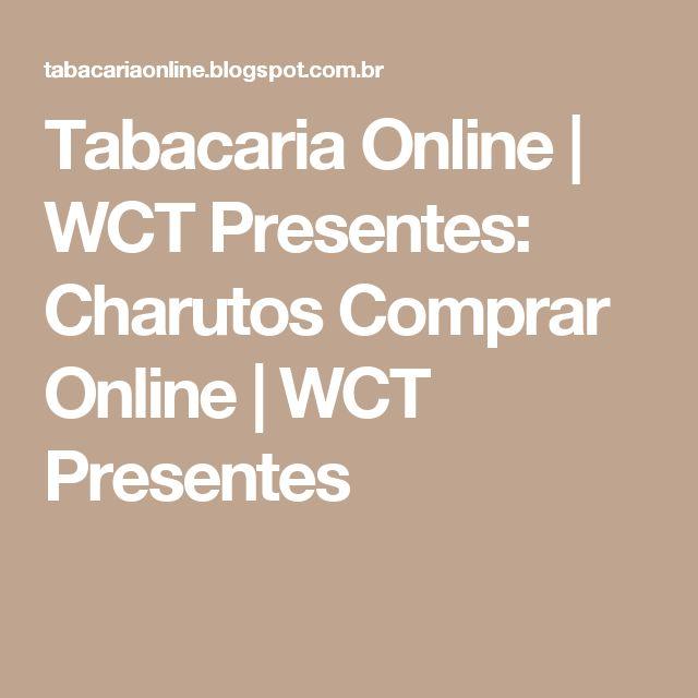 Tabacaria Online | WCT Presentes: Charutos Comprar Online | WCT Presentes