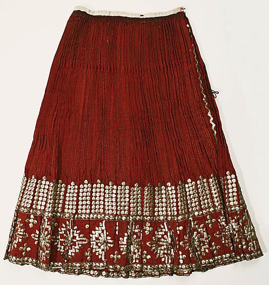 Skirt Date: 1900–1964 Culture: Romanian Medium: wool