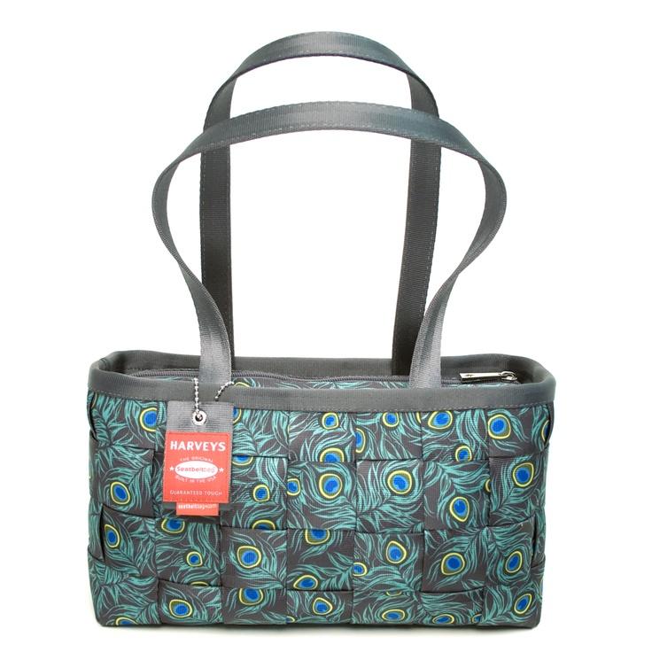 Harveys Seatbelt bags Large Satchel Peacock Handbag More Rachel fun!