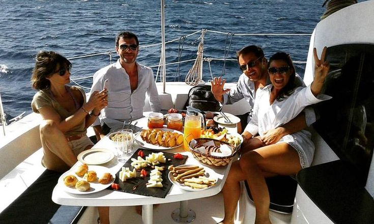 Mykonos is an especially famous summer goal for yacht sanctions,