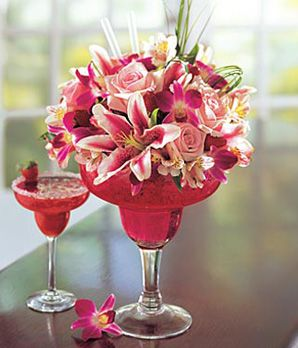 See these novelty flower arrangements and find out how versatile flowers are.