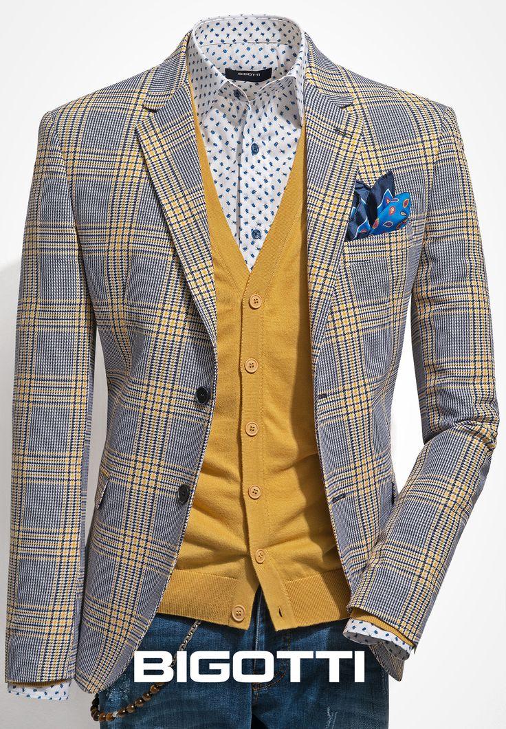 #Spring #wardrobe  The #Bigotti #blazer adds a #smart #touch to your #everyday #outfits www.bigotti.ro  #Bigottiromania #moda #barbati #sacouri #primavara #followus #mensfashion #ootd #mensclothing #menswear #mensstyle #jackets #inspiration #newcollection
