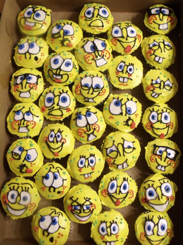 Spongebob Cakes And Cupcakes