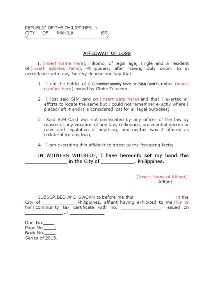 affidavit loss sample request letter issue card cover templates - indemnity letter template
