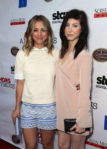 Kaley and Briana Cuoco Kaley Cuoco's younger sister Briana is an aspiring singer who has made guest appearances on her sister's show The Big Bang Theory and recently auditioned on The Voice. Source: Getty / David Livingston