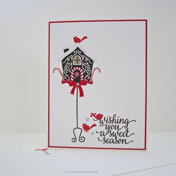 Sweet Season Greeting Card holiday card by EnchantedRoseByLinda