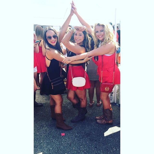 Texas tech game day tailgate outfit