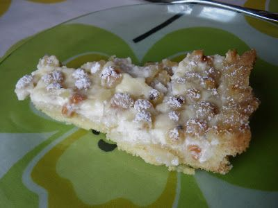 Krämig paj med vita eller röda vinbär - Recept på Matlyckan