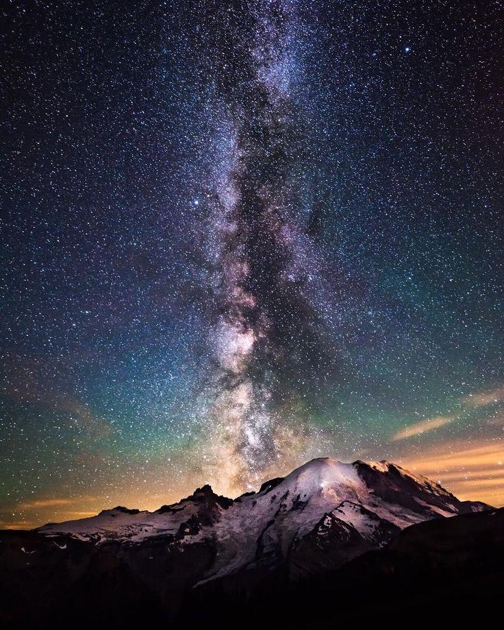 Milky Way Wallpaper: De 20+ Bästa Idéerna Om Night Skies På Pinterest