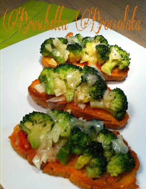 Cucinando tra le nuvole: Bruschetta Broccolata