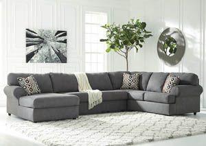 Jayceon Steel Extended Left Facing Chaise End Sectional, /category/living-room/jayceon-steel-extended-left-facing-chaise-end-sectional.html