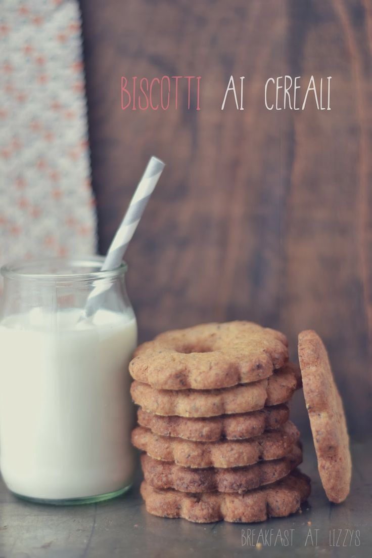 breakfast at lizzy's: Biscotti ai cereali [multicereals cookies]