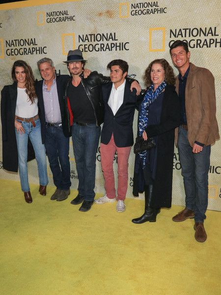 Ian Somerhalder Photos - Ian Somerhalder and Nikki Reed are seen arriving at the premiere of National Geographic's 'The Long Road Home' at Royce Hall in Los Angeles, California. - Ian Somerhalder Photos - 9 of 2684