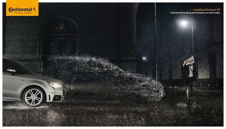 Nessa época onde os trocadilhos visuais imperam em quase todas os anúncios em todo o planeta, é bom verum exemplo em que alinguagem visual realmente é pertinente e funciona muito bem. Bela campanha da Havas Vale do México para os freios Continen...