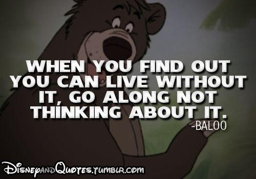 -Baloo (The Jungle Book)