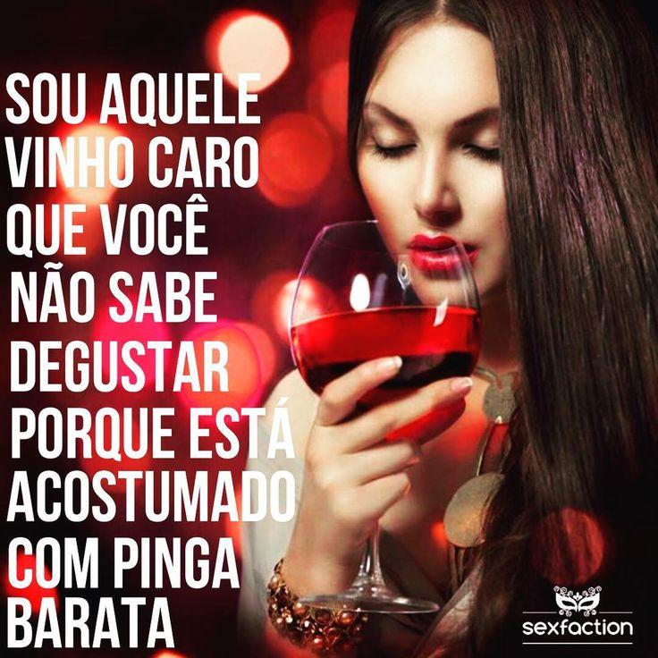 Cada um degusta o que aguenta! Ou o que pode, não é mesmo?  #sexfaction #seduçao #love #amor #girlfriend #boyfriend #vinho #wine #bomgosto #arrepiosnaalma #beijo #kisses #autoestima #selfsatisfaction