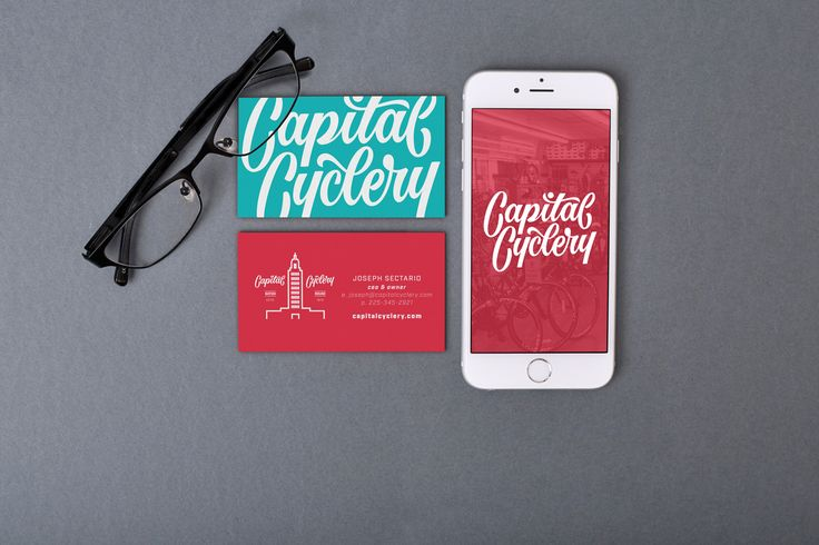 Capital Cyclery branding - wscully