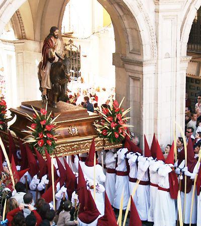Jesús entrando en Jerusalén y Ntra. Sra. de La Esperanza,Cuenca