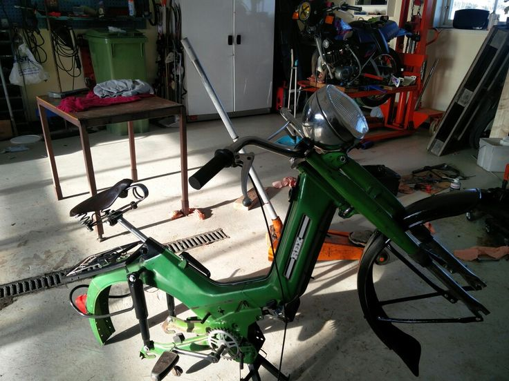 Rex moped with Sachs engine, custom build