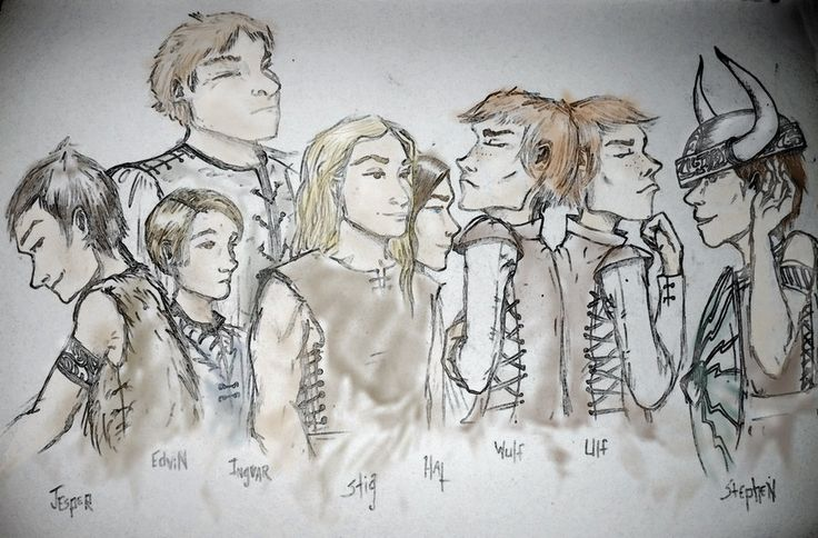 The Brotherband Chronicles - the outcasts Herons by oliveoil2x.deviantart.com on @deviantART