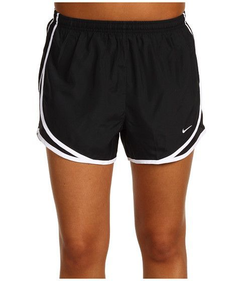 "Nike Dri-FIT™ Tempo Track 3.5"" Short Black/Black/White/White - Zappos.com Free Shipping BOTH Ways"