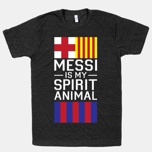 Messi is my spirit animal!