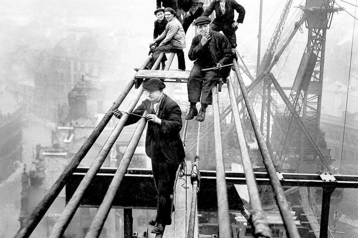 Building the Tyne Bridge 1927