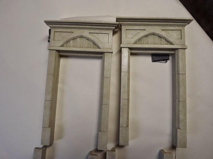 Gothic Door Frames - TUTORIAL & 120 best Dollhouse: Windows \u0026 Doors images on Pinterest | Dollhouses ...