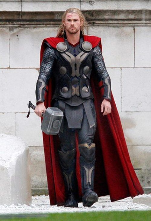 Chris Hemsworth. Super hot in Thor - The Dark World.   http://www.eventcinemas.com.au/movie/Thor-The-Dark-World
